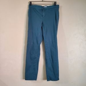 Lila Ryan Stitch Fix Peacock Skinny Pants 8